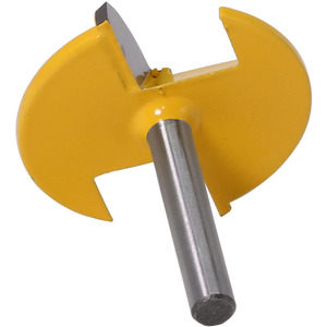 """Image 3 - Broca enrutadora de tazón pequeño, vástago de 6mm, 1 1/2 """"de radio 1 3/4"""", cuchillo de puerta ancha, cortador de carpintería RCT, 1 ud."""