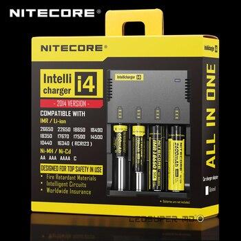Хит продаж портативный осветительный аксессуар микрокомпьютер Intelli зарядное устройство Nitecore i4 Универсальный аккумулятор Lipo баланс зарядн...