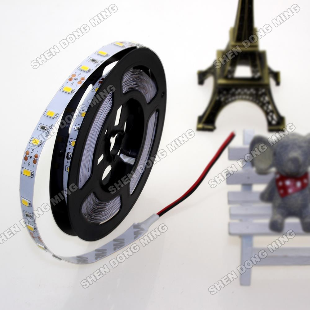 5m 60leds/m smd 5630 LED Strip 12V DC flexible Led light Tape Ribbon DC12V RGB blue/green/red/warm white