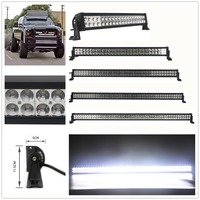 OffRoad 14 22 32 42 50 52 inch LED Bar Double Row LED Work Light Bar for Tractor Boat 4WD 4x4 Car Truck SUV Jeep Ford