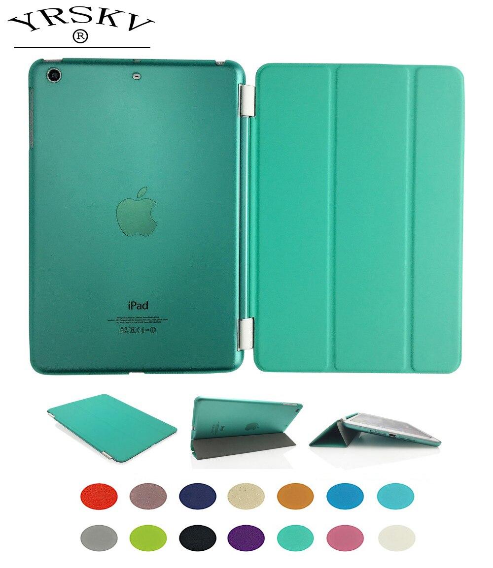 Case for iPad Air 2013 YRSKV Separate PU leather Smart Auto Sleep Wake + Hard PC Back Case For Apple iPad