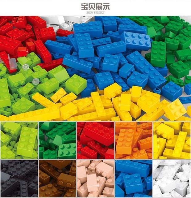 Venta caliente 415 unids Lepin Compatible Bloques de Construcción de Ladrillos DIY Creativo Juguetes para Niños Ladrillos Educativos Bloques de Juguetes