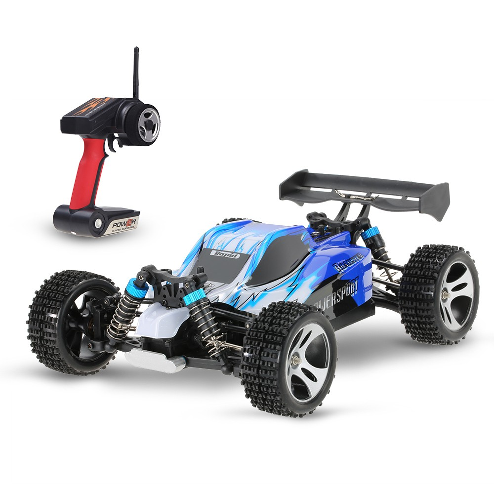 GizmoVine RC Car WLtoys A959 2.4G 1:18 Scale Off-Road Vehicle Buggy High Speed Racing Car Remote Control Truck 4 wheel Climber