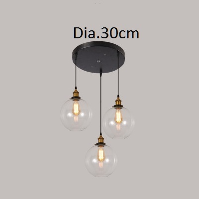 Us 29 71 19 Off Lukloy Retro Gl Pendant Lights Led Kitchen Lamp Hanging Ceiling Lamps Living Room Lighting Fixtures In