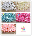 288pcs/lot 4/6/10mm DIY Imitation Garment Beads Pearl  ABS Round  Beads For Fashion Jewelry Making  028030006(2)