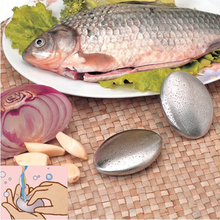 Top Sale 1pc Magic Stainless Steel Soap Oval Shape Deodorize