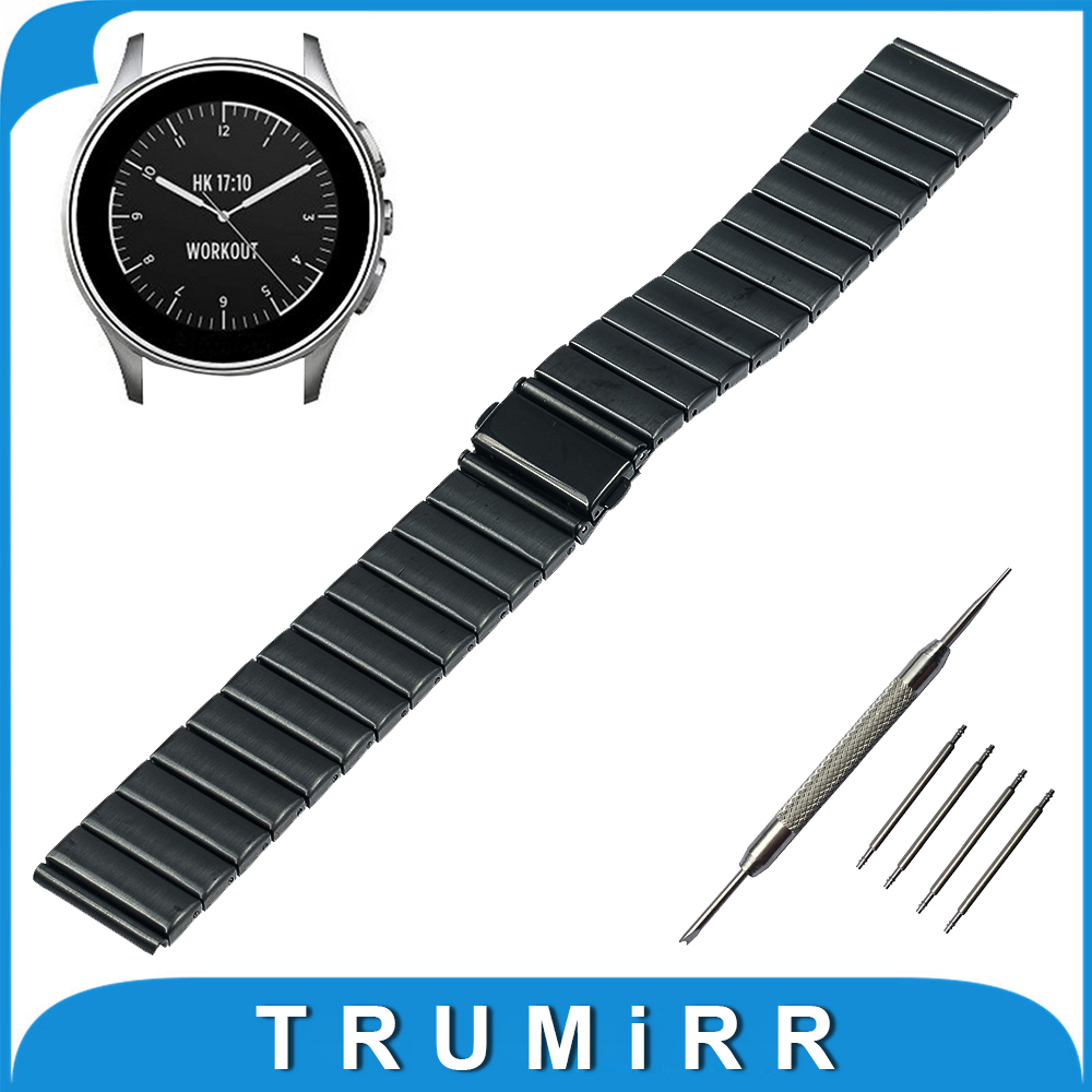 22mm Stainless Steel Watch Band for Vector Luna / Meridian, for Xiaomi Smartwatch Huami Amazfit Strap Wrist Belt Bracelet