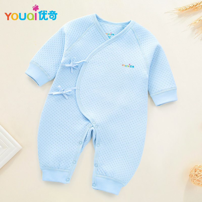 5501da3967 YOUQI Newborn Rompers Winter Warm Pajamas Baby Girls Clothes Boys Jumpsuit  Clothing Spring Toddler Costumes Clothes For Newborns-in Rompers from  Mother ...