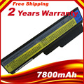 7800MAH 9Cells Laptop Battery for IBM Lenovo 3000 G455 For Lenovo N500 G550 IdeaPad G430 V460 Z360 B460 V460D L08S6Y02 L08S6D02