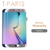 AAA Quality 5 1 Super AMOLED Screen For SAMSUNG Galaxy S6 Edge LCD Display S6EDGE G925