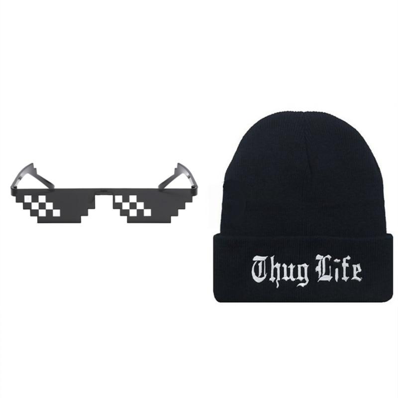 E glasses hat