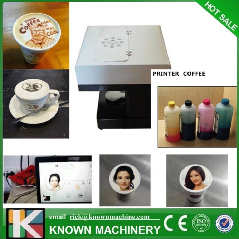 DIY your food cake coffe cookies digital coffee printer coffee printer food printer inkjet printer selfie coffee printer full automatic latte coffee printe wifi function