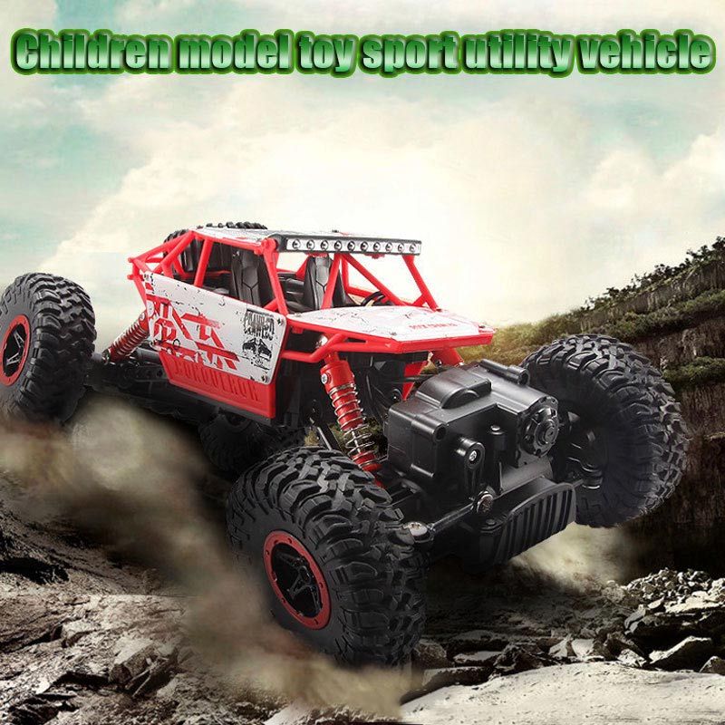 Russian shipment RC Car 2.4G 4CH 4WD Rechargeable 2 Motor Drive Remote Control 1:18 Car Model Off-Road Racing Vehicle Toy 2017 navigator rc racing car 2163 4ch 1 8 60cm large size off road remote control car truck vehile model toy with led light