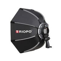 TRIOPO 90cm Photo Octagon Umbrella Light Softbox For Godox V860II TT600 photography studio accessories soft Box with handle