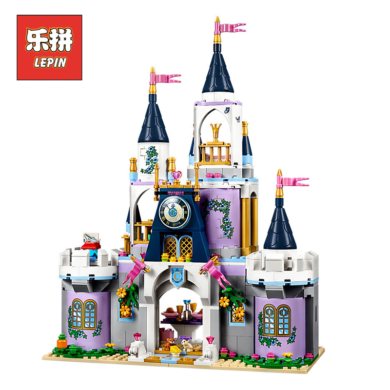 цена Lepin 25014 Friends Girls Movie Series The 41154 Dream Castle Set building Blocks Bricks Legoinglys Educational Toys Kids Gift