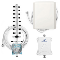 High Quality 70dB 1700MHz AWS Mobile Phone Signal Booster Gsm Repeater 3g 4g LTE Amplifier