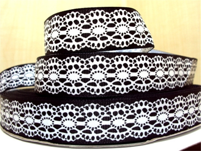 1 »(25 мм) геометрические узоры Высокое качество печатных полиэстер ленты 5 метров, DIY материалы ручной работы, свадебная подарочная упаковка, 5yc729