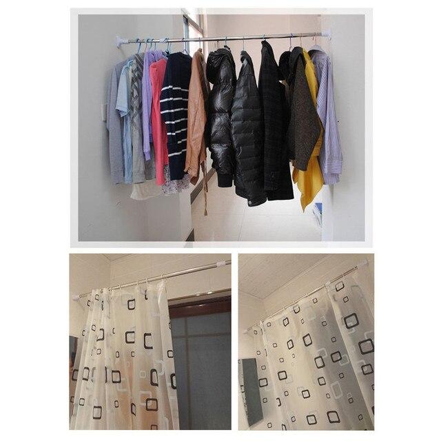 Cute Extending Shower Curtain Pole Photos - Bathtub for Bathroom ...