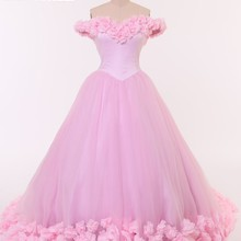 CloverBridal Romantic large quinceanera dresses ball gown