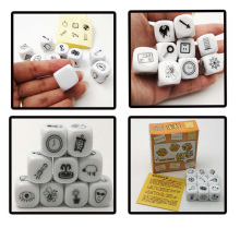 Increase Imagine  Story Dice Board Game Telling Story Family Puzzle GameFor Children Best Gift have Box my jungle puzzle board game funny game easy to play with party family puzzle game for children gift with family