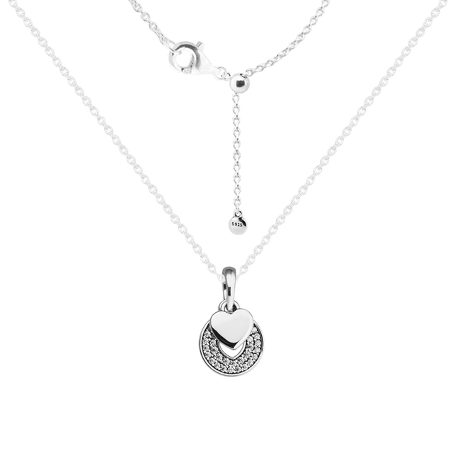 Celebration hearts clear cz silver necklaces pendants 925 celebration hearts clear cz silver necklaces pendants 925 sterling silver jewelry with aloadofball Choice Image