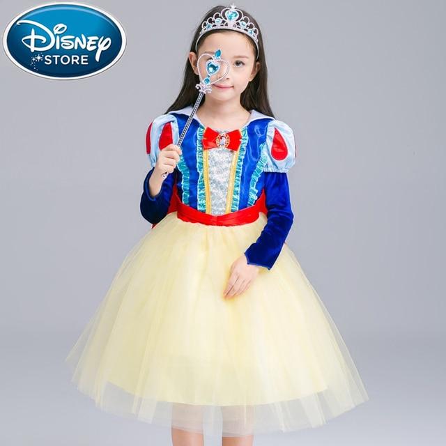 Disney Frozen dress for girls elsa costumes nest Girls Cosplay party Princess anna kids vestidos de festa meninas for children 2