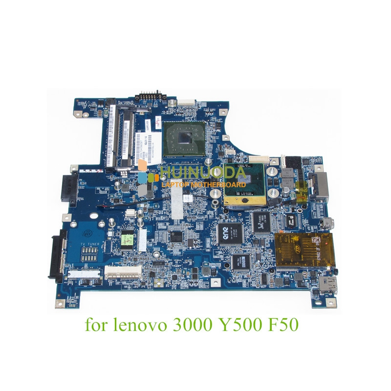 IGL50 LA-3371P For lenovo 3000 Y500 F50 laptop motherboard mainboard 940GML DDR2 with cpu
