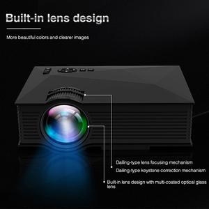Image 3 - Original UNIC UC68 UC68H Portable LED Projector 1800 Lumens 80 110 ANSI HD 1080p Full HD Video Projector Beamer for Home Cinema
