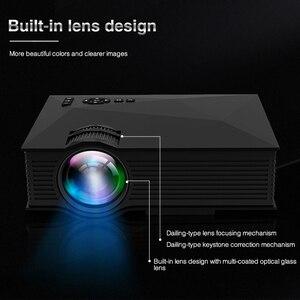 Image 3 - الأصلي UNIC UC68 UC68H المحمولة جهاز عرض (بروجكتور) ليد 1800 لومينز 80 110 ANSI HD 1080p كامل HD عارض فيديو متعاطي المخدرات للسينما المنزلية