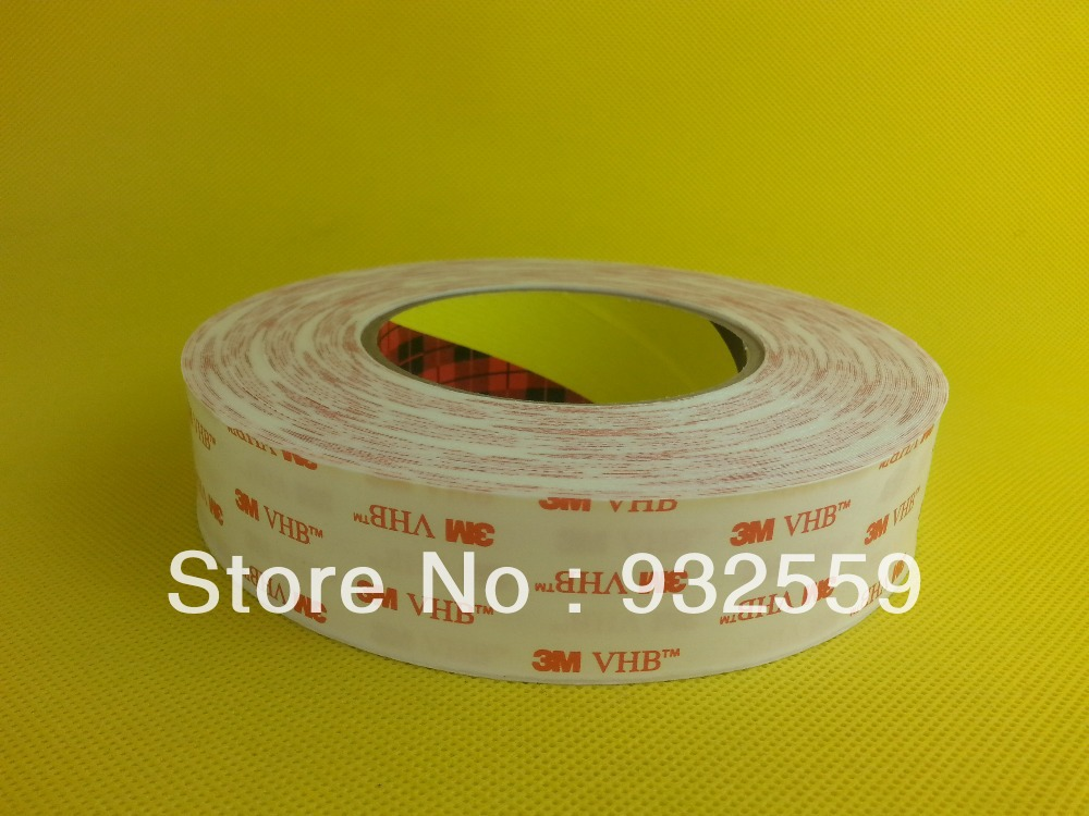 30mmX33M  thin 3M VHB tape 4914 for LCD/Display and Bezel bonding,0.25mm thick, Free shipping тени для век absolute new york pure metal veil eyeshadow 05 цвет 05 jeweled java variant hex name 855642
