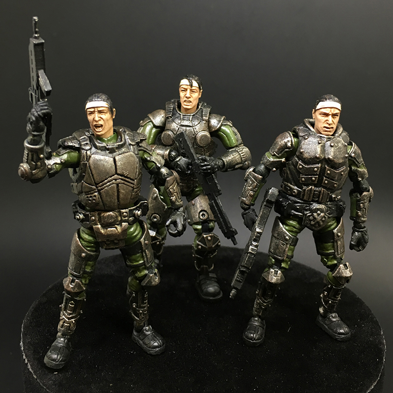 JOY TOY source mini- Military 1:27 the 3rd generation Steel Ride Corps one team model toys 5pcs lots 2017 film extraordinary corps mecha five beast hand collection model toy