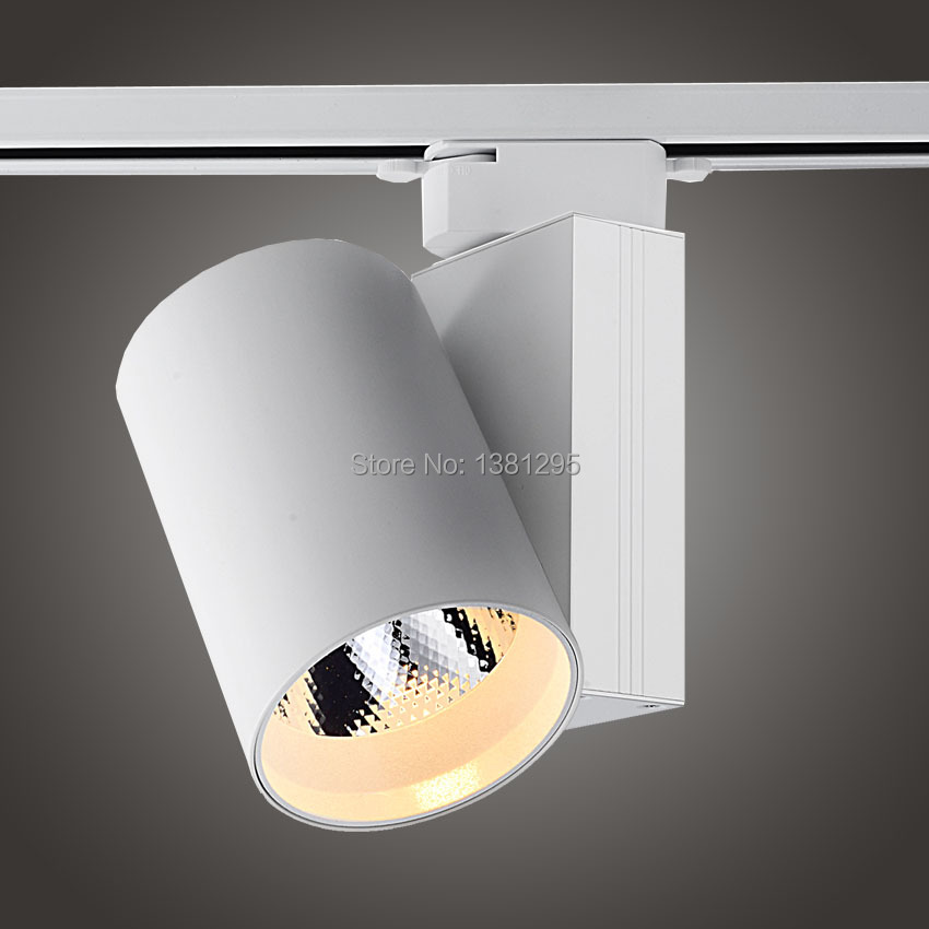 LED Track Light 20W 30W 40W CREE COB Ceiling Rail Lights