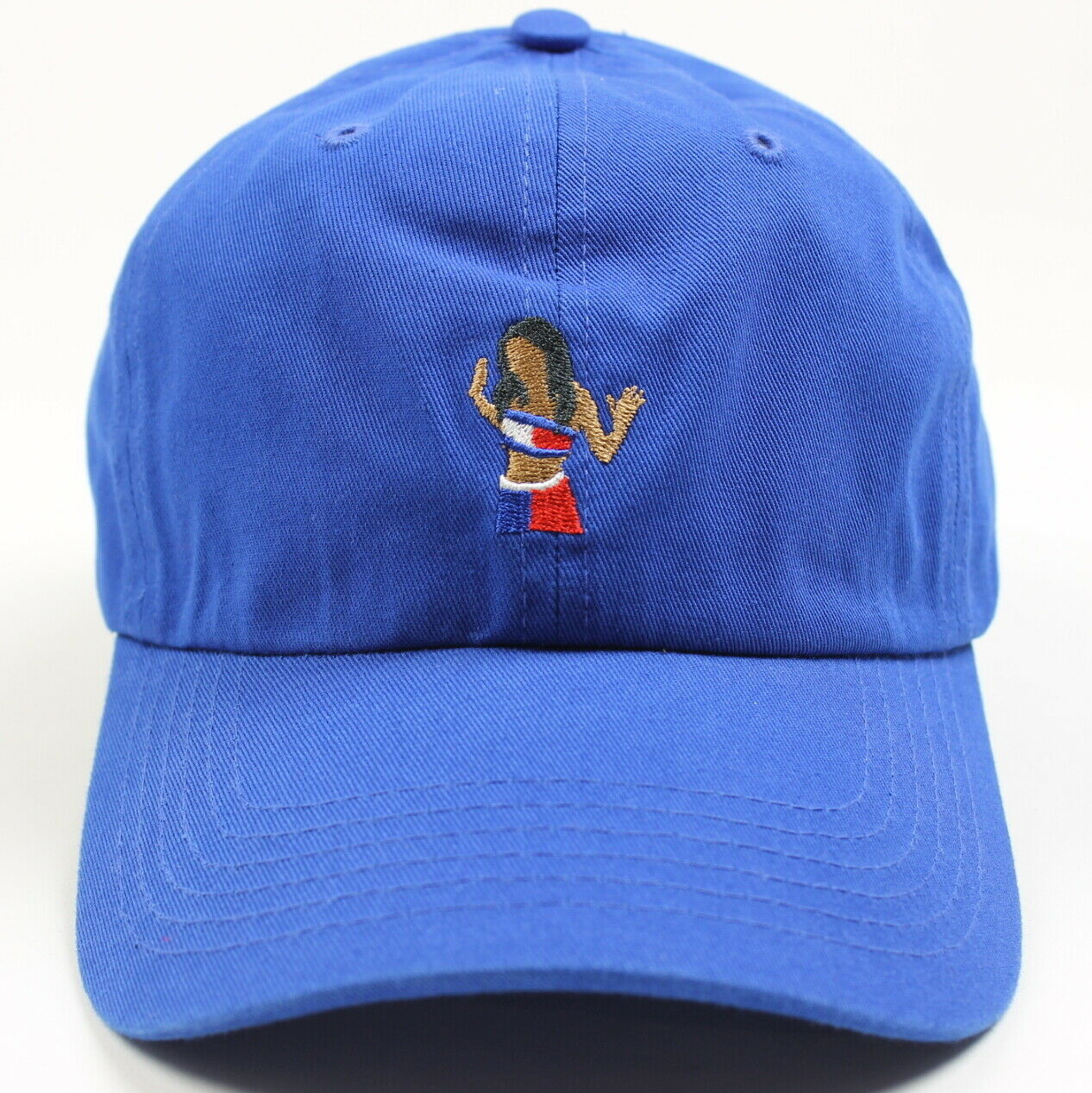 Any Memes Unisex Aaliyah Tommy Girl Dad Hat   Baseball     Cap   Blue One Size New