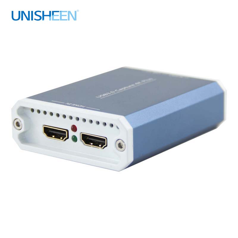 4K Capture Card UHD USB3 0 VIDEO CAPTURE Dongle Game Streaming Live Stream Broadcast 2160P 1440P