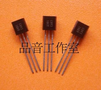 2018 hot sale 10PCS/30pcs JAPAN brand new original 2SA991 A991 gold voice Audio electronics free shipping недорого