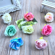 12 pcspeony flower decoration wedding bouquet the leadership of course and silk road;Led hotel background