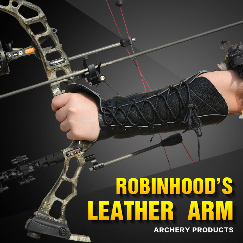 Free Shipping, 1 Pcs Cowhide  ARM GUARD Genuine Leather   FOR Hunting Bow Recurve Bow  And Compound Bow,
