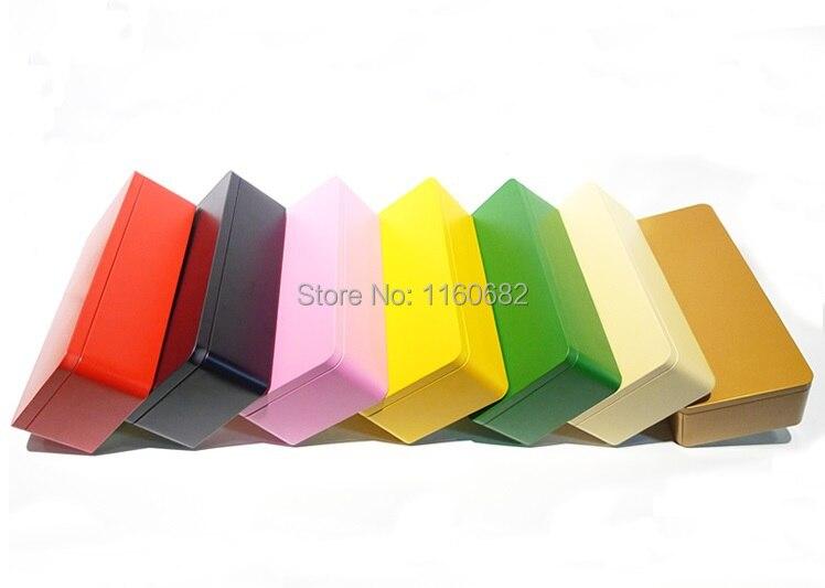 23,5*11*6,5 см прямоугольная жестяная банка для чая/металла storagecase или шкатулка для ювелирных изделий