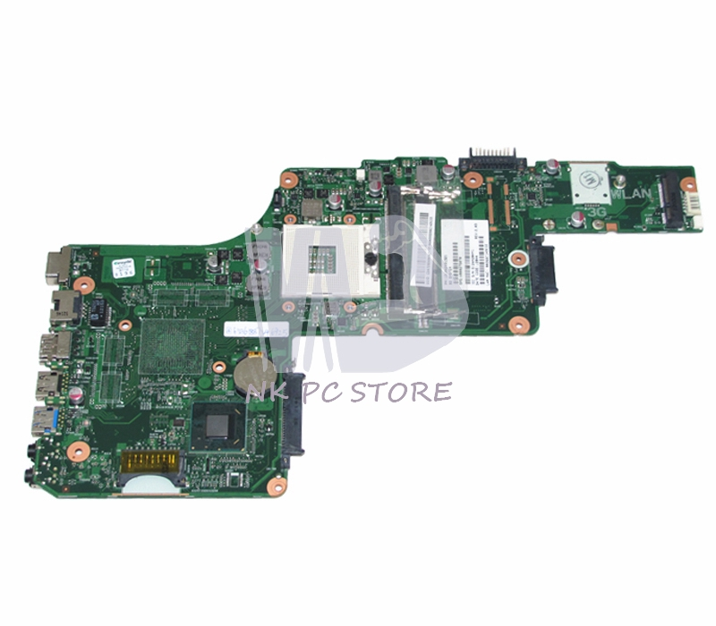 V000275070 Main Board For Toshiba Satellite S855 C855 Laptop Motherboard HM77 DDR3 1310A2491321 h000042190 main board for toshiba satellite c875d l875d laptop motherboard em1200 cpu ddr3