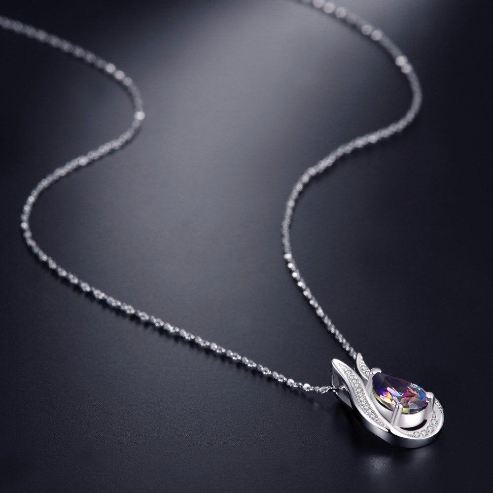 Toptan 100% gerçek 925 Ayar Gümüş kolye Marka EN Kaliteli - Takı - Fotoğraf 3