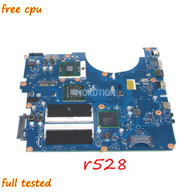NOKOTION BREMEN-UL Laptop Motherboard For Samsung r528 BA92-06338A BA41-01225A BA92-06336A BA92-06338B BA92-06336B Main board laptop integrated motherboard for np305e5a ba92 09506a ba92 09506b ba41 01821a
