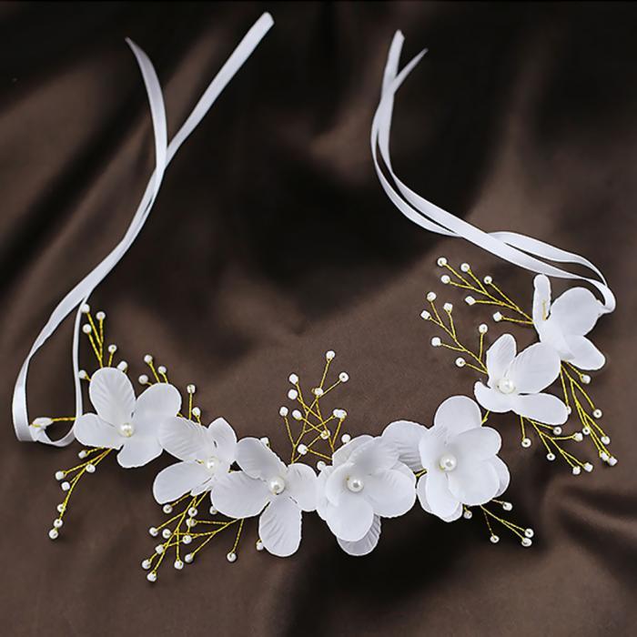 HTB1FhzGJpXXXXcTXFXXq6xXFXXXq - Новое поступление цветочная жемчужная гирлянда для невесты свадебная цветочная корона повязка на волосы бесплатная доставка SL