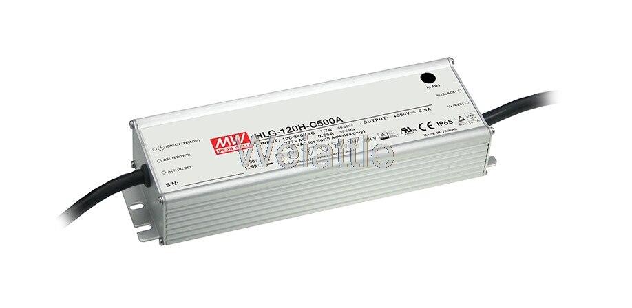 MEAN WELL original HLG-120H-C350B 215 ~ 430V 350mA meanwell HLG-120H-C 150.5W LED Driver Power Supply B Type 10pcs rjp4301app rjp4301 to 220f 430v