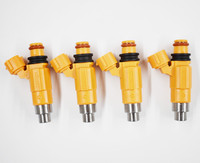 Set of Four (4) Flow Matched Fuel Injectors # CDH275 Fit for Mitsubishi Yamaha