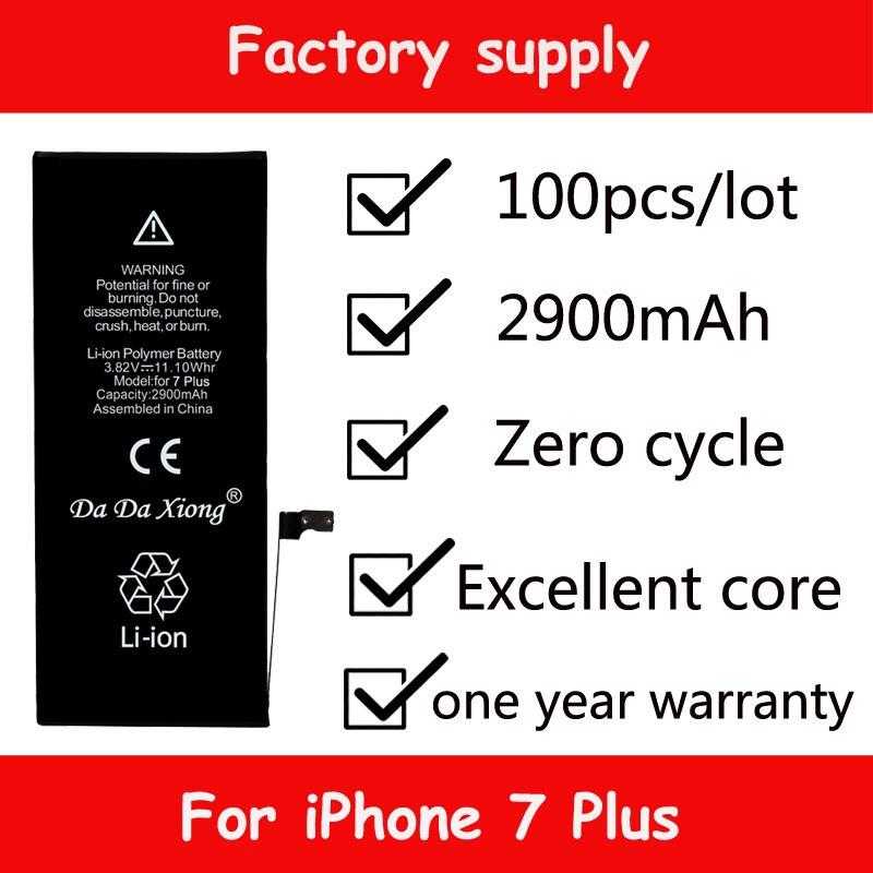 Zero-Cycle-Battery iPhone Replacement-Batteries 7-Plus Da Original for 7-plus/2900mah/Real-capacity