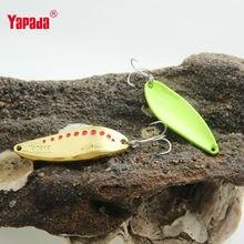 YAPADA Spoon 004 Leech Metal Spoon Multicolor Fishing Lures