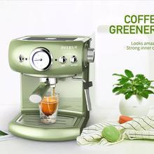 Итальянская кофемашина полуавтоматическая Ретро Итальянская Кофеварка 19 бар эспрессо машина высокого давления Кофеварка вспениватель молока