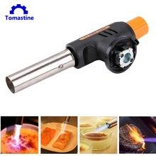 Automatic Electronic Flame Gun Butane Burners Gas Torch Flamethrower Butane Burners