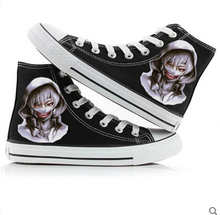 Unisex casual canvas anime Tokyo Ghoul print sports shoes christmas gift
