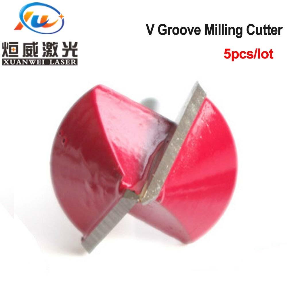 רשימת הקטגוריות V Groove כרסום CNC קאטר חריטה נתב גילוף סכין טונגסטן פלדה עץ chamfer Bit 90 כלי חיתוך תואר (2)